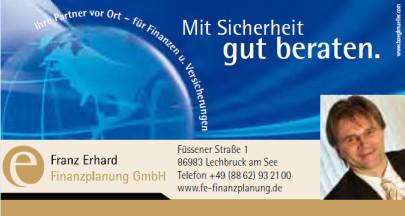 Finanzplanung Erhard