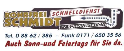 Schmidt Rohrreinigung